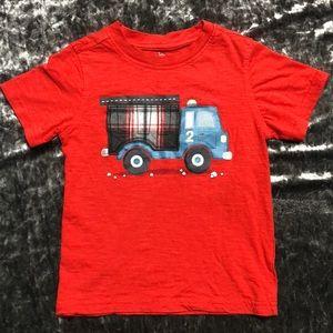 Boys Dump Truck Tee
